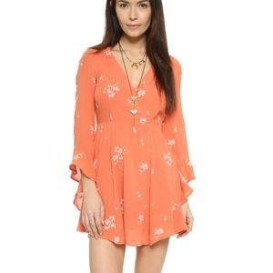 NWT Free People Jasmine Embroidered Dress